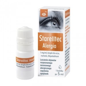 Starelltec Alergia krople do oczu  5ml