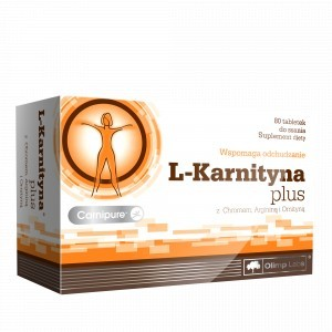 Olimp L-Karnityna Plus 80 tabletek do ssania