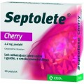 Septolete Cherry 18 pastylek